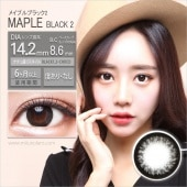[Black Contactlens]Maple Black2