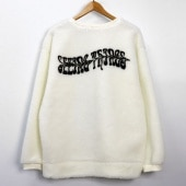 [UNISEX] LATTE ART st. LOGO SHERPA SWEATSHIRTS(2color)