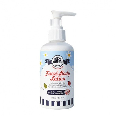 The Big Green Skin Barrier Baby Face&Body Lotion-Body and Face-100% All Natural-Plant Based Ingredie