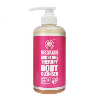 The Big Green Moisture Therapy Body Cleanser, 100% All Natural Ingredients, Sulfate Free, Relieves I
