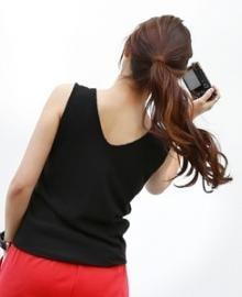 PIPPIN sleeveless shirt 209354