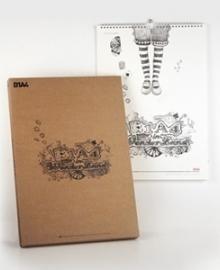 [B1A4] 2014 캘린더 (벽걸이용)